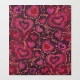 The Hearts Canvas Print