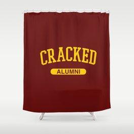 Cracked Alumni Shower Curtain