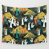 egypt Wall Tapestries featuring ancient Egypt by kociara