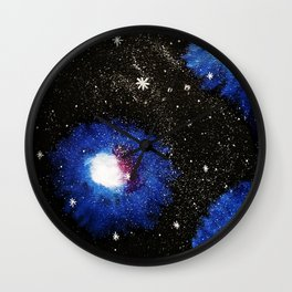 Mattis Galaxy Wall Clock
