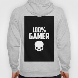 gamer logo and quote Hoody