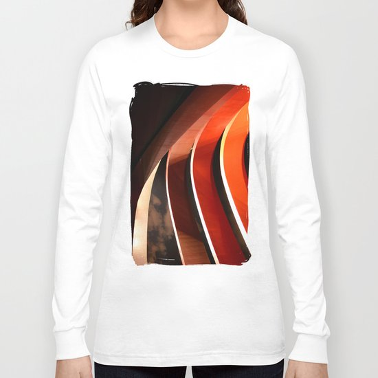 Ornage Curves Long Sleeve T-shirt
