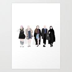 SKAM Art Print
