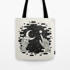 Look to the Skies Tote Bag