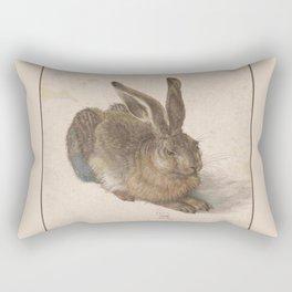 Albrecht Durer - The hare Rectangular Pillow