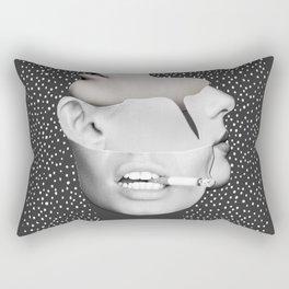 collage art / Faces 2 Rectangular Pillow