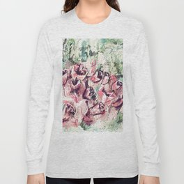 Abstract flowers 1 Long Sleeve T-shirt