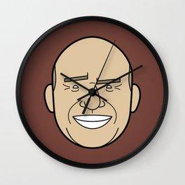 Faces of Breaking Bad: Hank Schrader Wall Clock