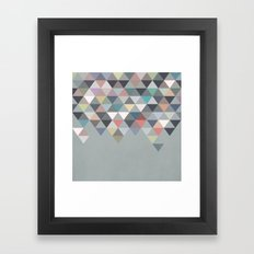Nordic Combination 20 Framed Art Print