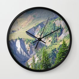 SWIFT CREEK HEADWATERS BELOW TABLE MOUNTAIN Wall Clock