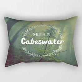 Meet me in Cabeswater Rectangular Pillow