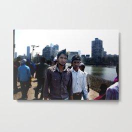 Mumbai Crowds - Haji Ali Mosque - 23 Metal Print
