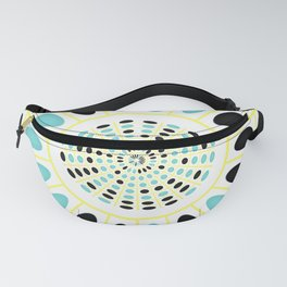 Wheel on white Fanny Pack