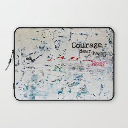 courage, dear heart Laptop Sleeve