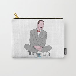 PEE-WEE HERMAN SMURF ICE CREAM Carry-All Pouch