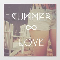 summer love Canvas Print