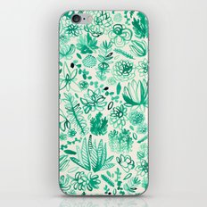 The Wonderful World of Succulents iPhone & iPod Skin