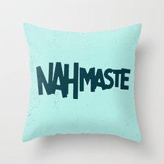 Nahmaste Throw Pillow