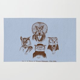 A History of Western Philosophy. With Owls. Rug