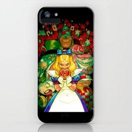 Hello Alice iPhone Case