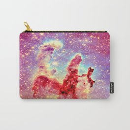 GALAXY : The Pillars of Creation Nebula Vibrant Warmth Carry-All Pouch