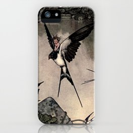 """Thumbelina"" Fairy Tale by W Heath Robinson iPhone Case"