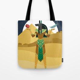 egypt mythology anubis god of the underworld Tote Bag