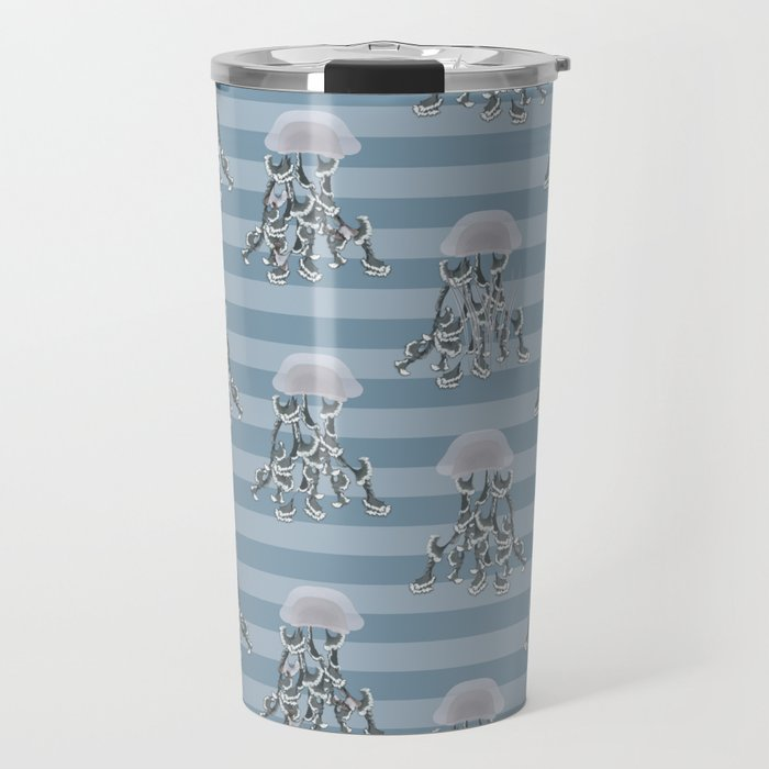 Jellyfish elegance Travel Mug