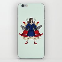peggy carter iPhone & iPod Skins featuring Fight like a Girl - Peggy Carter by HayPaige