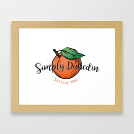 Simply Dunedin Framed Art Print