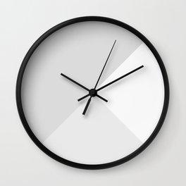 Silver Tones Wall Clock