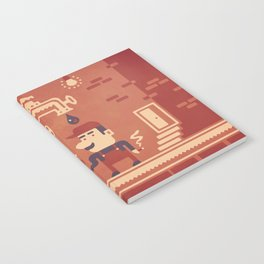 Mario at work Notebook