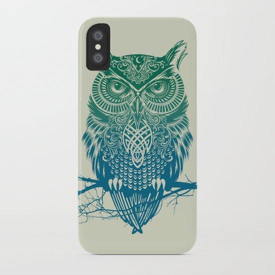 Warrior Owl iPhone Case