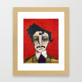 1865 Killed Abraham Lincoln (John Wilkes Booth) Framed Art Print