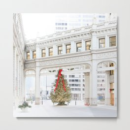 Magic on Chicago's Mag Mile Metal Print