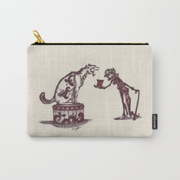 The Ringmaster and his Feline friend Carry-All Pouch