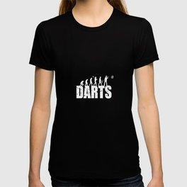 Darts Evolution Queue Indoor Sports Game T-shirt