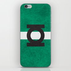 Color Greens iPhone & iPod Skin
