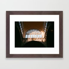 antwerpen-centraal Framed Art Print