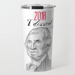 George Dissents Travel Mug