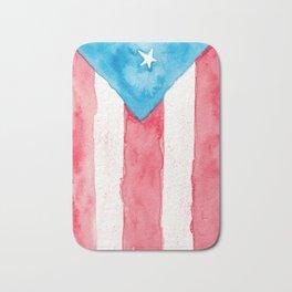 Puerto Rico Watercolour Bath Mat