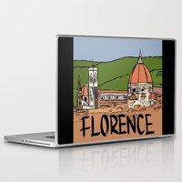florence Laptop & iPad Skins featuring Florence by Logan_J