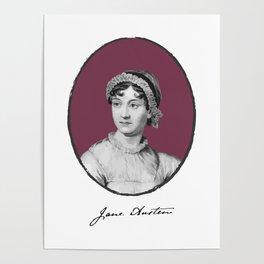 Authors - Jane Austen Poster