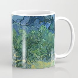 Olive Trees with the Alpilles in the Background by Vincent van Gogh (June 1889) Coffee Mug