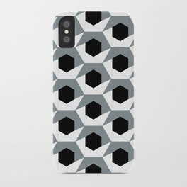 Hex shadow pattern  iPhone Case
