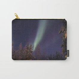 Finland lapland northern lights Carry-All Pouch