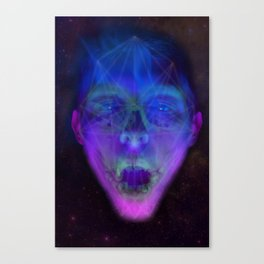 SpaceFace Canvas Print