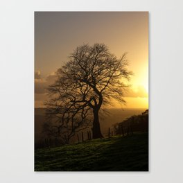Hill of Slane Canvas Print