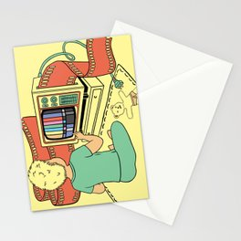 what you give is what you get Stationery Cards
