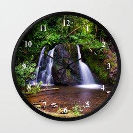 Fairy Glen, Rosemarkie, Scotland Wall Clock